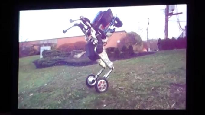 Двоколісний робот Handle - творіння компанії Boston Dynamics