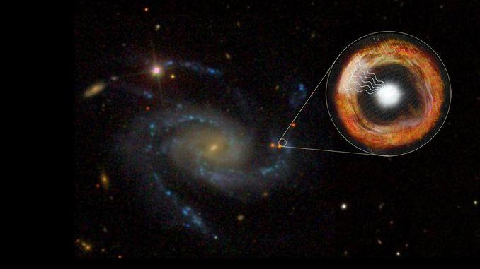 Астрономам вдалося зафіксувати вибух наднової через лічені години після події