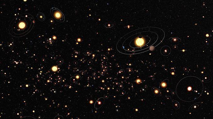 Вчені показали найбільший каталог зоряного неба