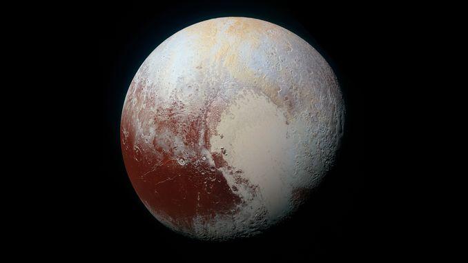 Атмосферні ефекти Плутона викликають почервоніння поверхні