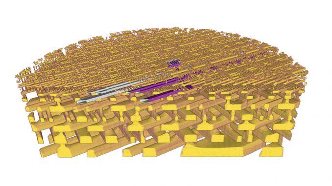 Тривимірна рентгенівська зйомка дозволяє побачити найдрібніші деталі комп'ютерного чіпа