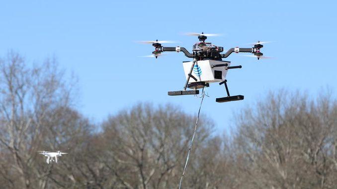 """Безпілотники будуть виступати в ролі аварійних або додаткових """"вишок"""" мобільного зв'язку"""