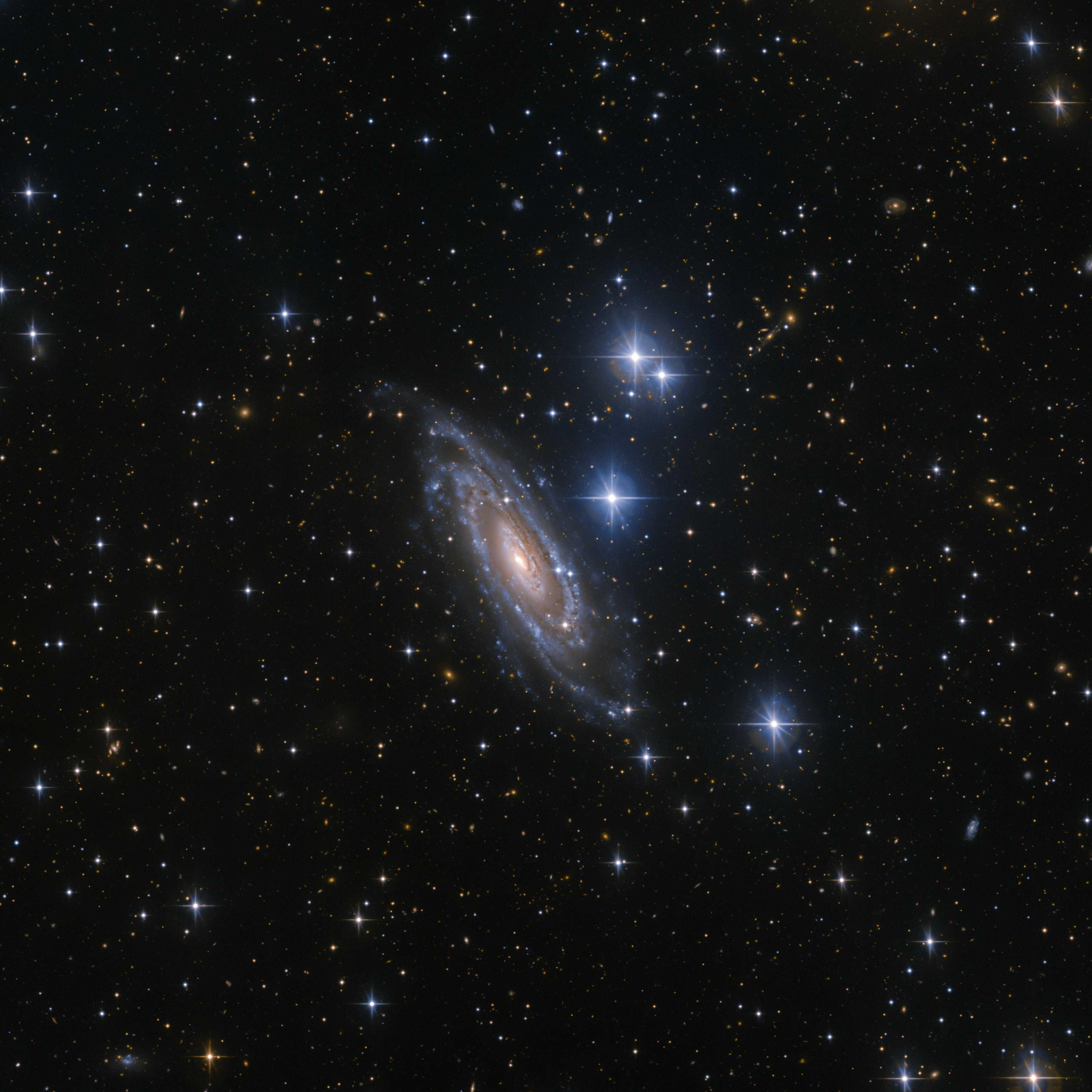 Обсерваторія Ла-Силья отримала чіткий знімок далекої галактики NGC 1964
