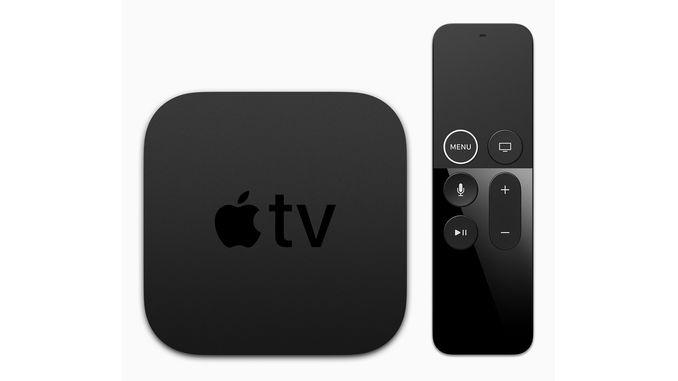 Анонсована телевізійна приставка Apple TV 4K