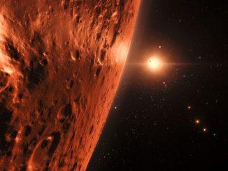 Вчені отримали докази наявності води на планетах системи TRAPPIST-1