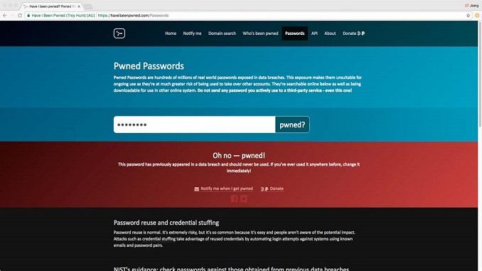Як перевірити, чи не зламали пароль
