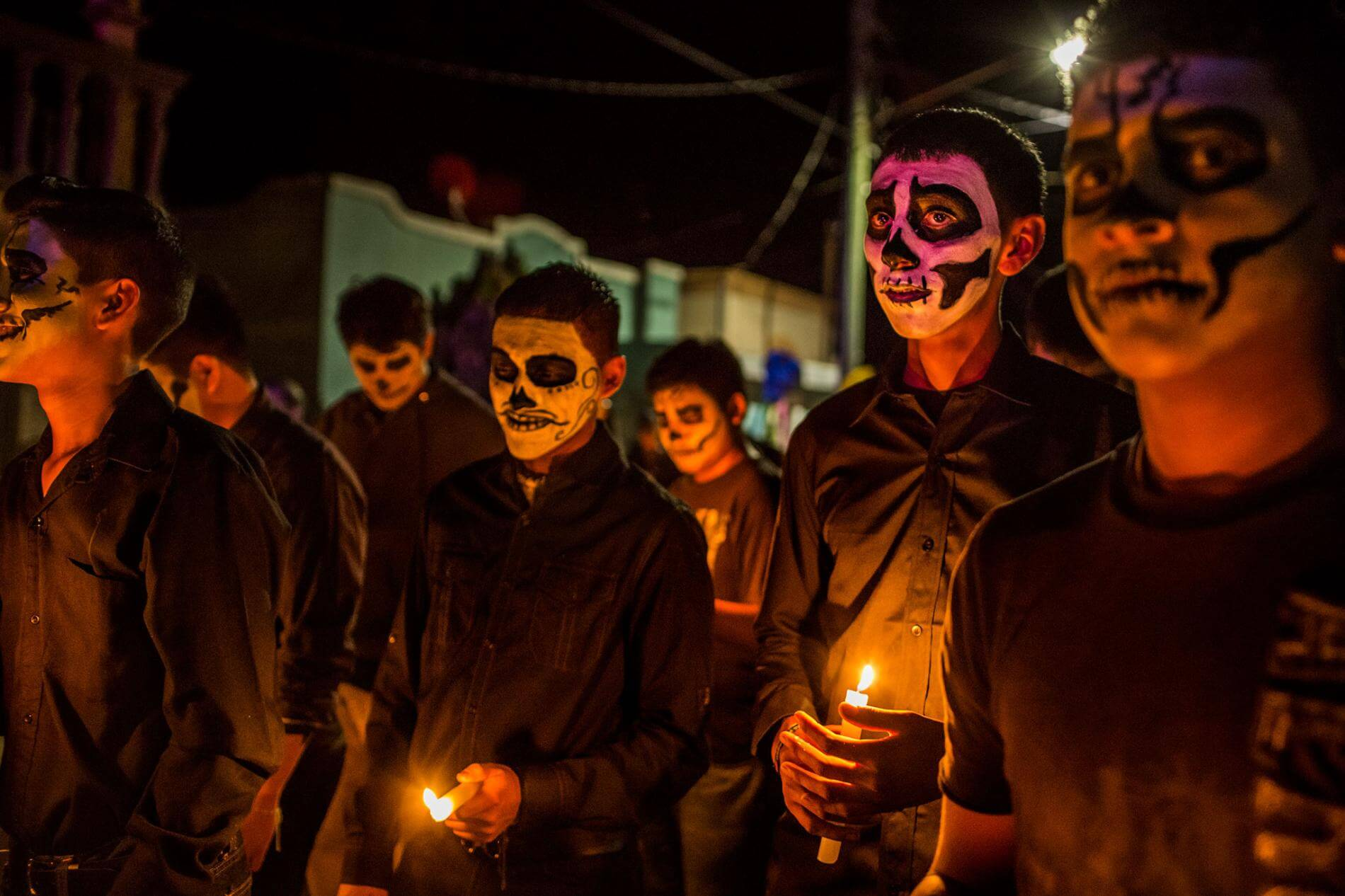 Ссвято Дня мертвих, коли мексиканці шанують своїх предків.