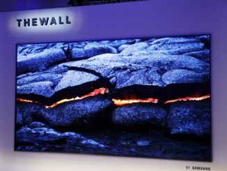 телевізор стіна Самсунг «The Wall»