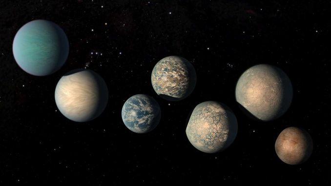 На планетах TRAPPIST-1 виявилося занадто багато води