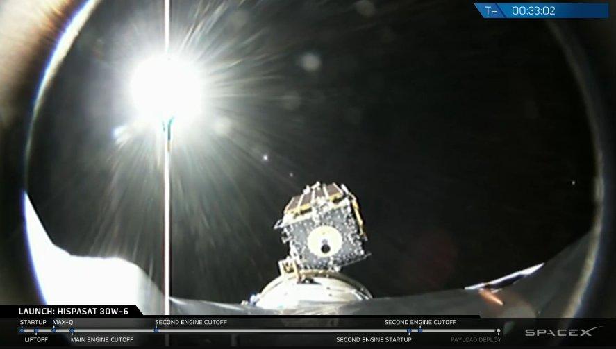 SpaceX запустила в космос п'ятдесяту ракету Falcon 9