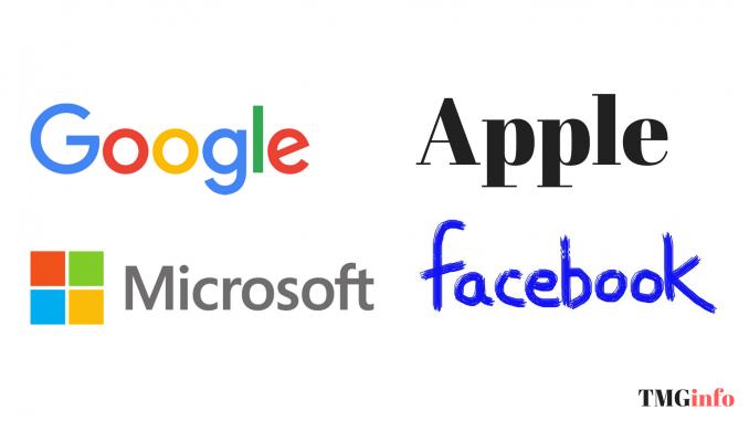 Facebook, Google, Microsoft і Apple стежать