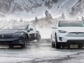 як працюють електромобілі взимку Тесла Tesla