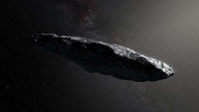 Астрофізики: астероїд 1I / Оумуамуа, можливо, має штучне позаземне походження
