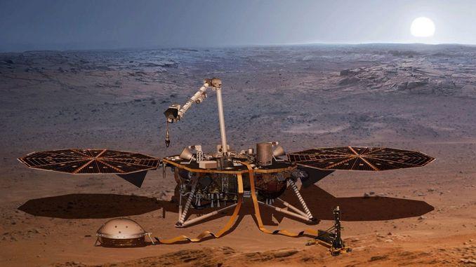 InSight зробив перше «Селфі» на поверхні Марса