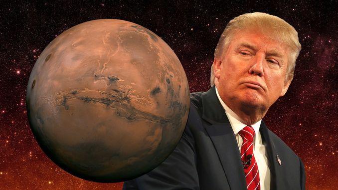 Трамп запропонував NASA необмежений бюджет в обмін на відправку людей на Марс