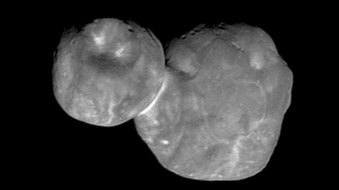 Походження астероїда Ультіма Туле спантеличило дослідників