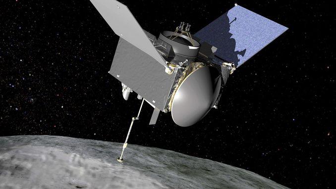 OSIRIS-REx надіслав фотографії астероїда Бенну