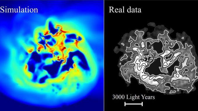 Астрофізики зареєстрували рух темної матерії