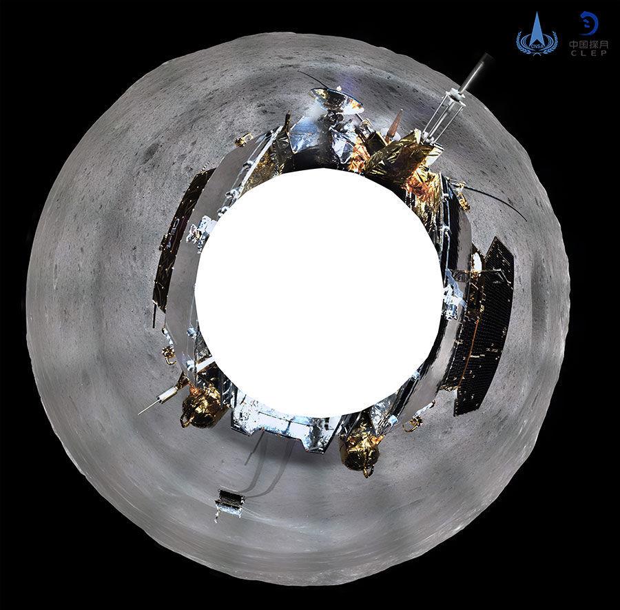 Китай опублікував відео посадки «Чан'е-4»