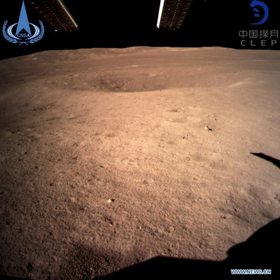 Чан'е-4 здійснив першу в історії успішну посадку на зворотний бік Місяця