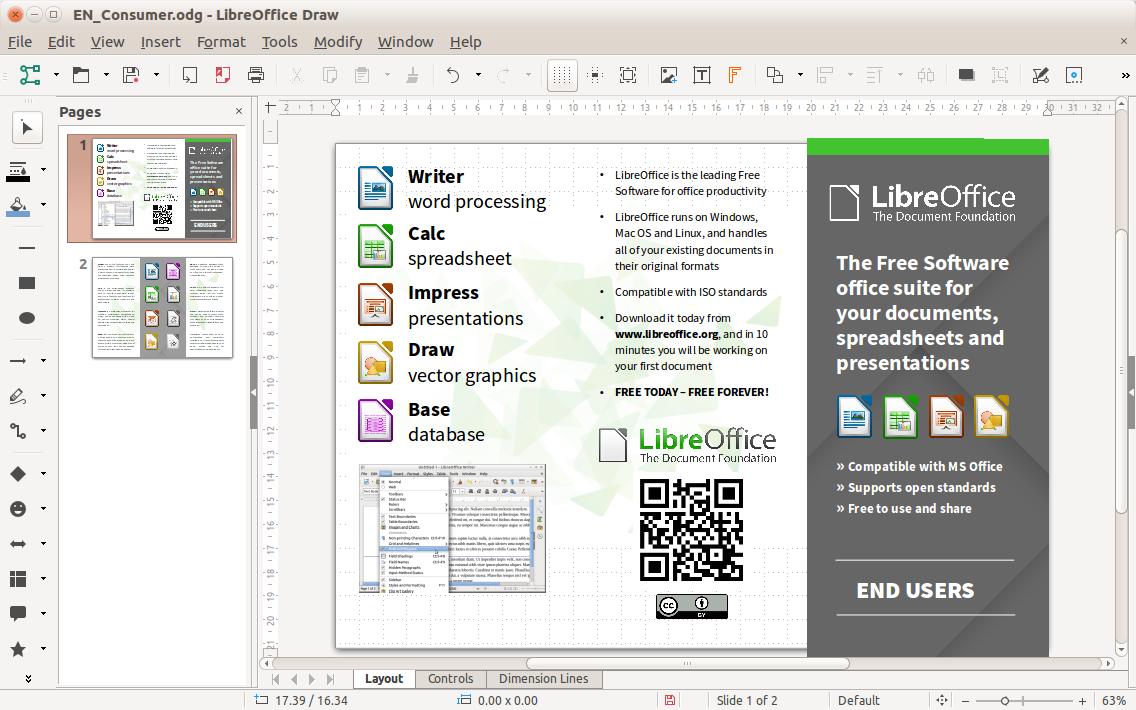 Альтернатива Microsoft Office - LibreOffice Як редагувати документи LibreOffice на Android і iOS