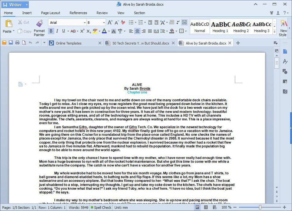Китайська альтернатива Microsoft Office - WPS (Kingsoft Office)