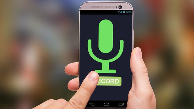 смартфон запис розмов