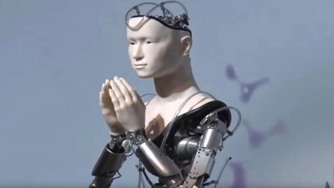 робот-божество