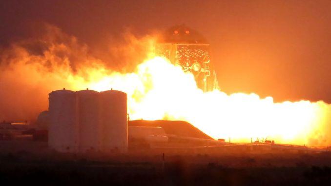 SpaceX вперше випробувала «прообраз» космічного корабля Starship