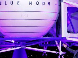 Голова Amazon представив корабель Blue Moon