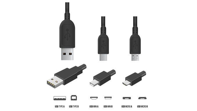 Види USB роз'ємів