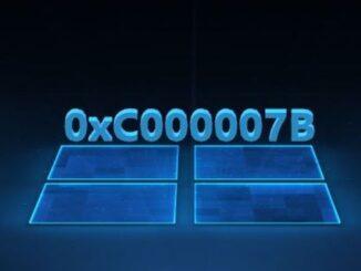 Помилка 0xc0000007b