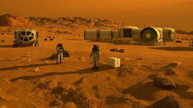 Коли ми полетимо на Марс Електрика на Марсі