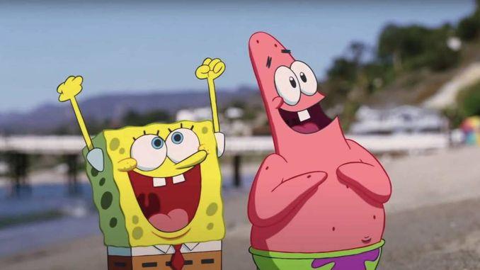 Губка Боб і корона Нептуна фільми з поєднанням анімації і реальних акторів