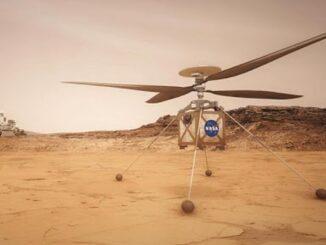 Вертоліт NASA здійснив перший політ на Марсі