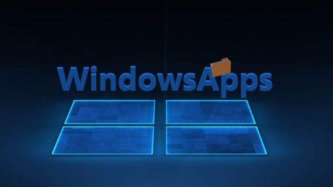 WindowsApps в Windows 10 що за папка, чи можна видалити