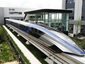 Найшвидший наземний транпоспорт представили у китаї - потяг на магнітній подушці