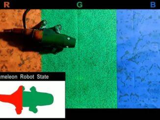 Робот який міняє колір як хамелеон