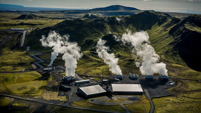 Установка з уловлювання вуглекислого газу з повітря запущена в Ісландії