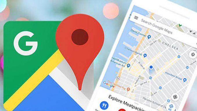 Як включити режим анонімності в Google Картах
