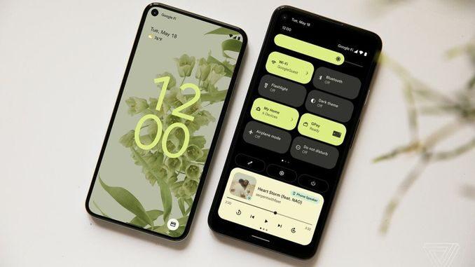 Android 12 що нового дизайн